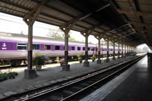 Zug von Bangkok nach Chiang Mai