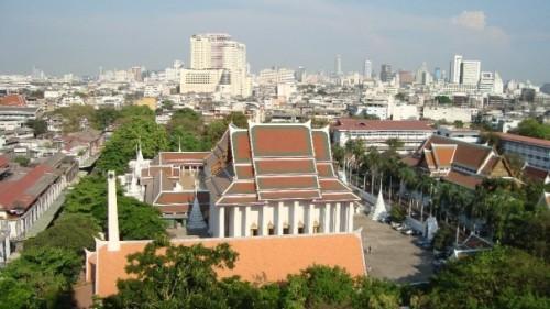 In der thailändischen Hauptstadt Bangkok finden sich viele Wats