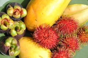 Erfrischende Früchte aus Thailand