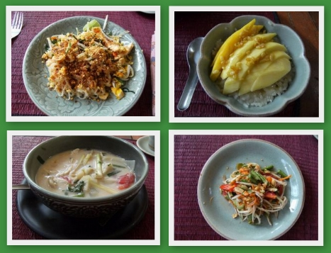 Leckeres Thai Food, selbstgekocht.