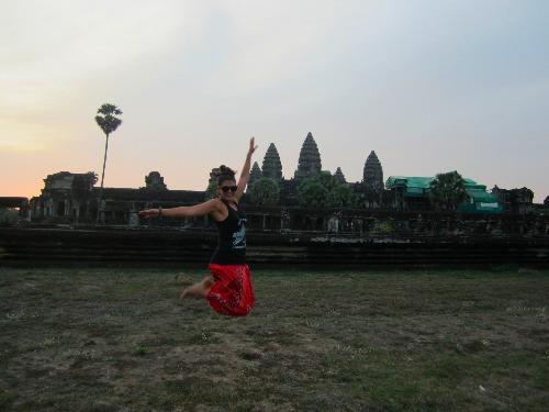 Ich reiste von Kambodscha aus über Land nach Thailand ein