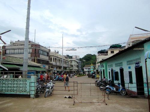 Von Ranong nach Myanmar / Burma zur Visaerneuerung