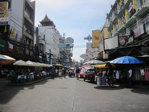 Khao San Road im Mai