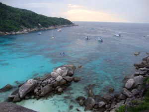 similan insel nr 8 donald duck bay tauchen