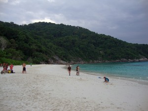 similan sand strand