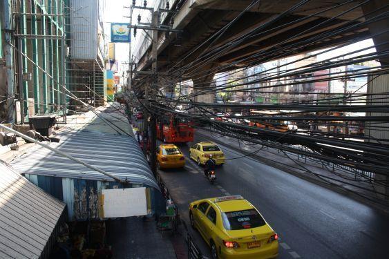 Ramkhamhaeng: Impressionen des Lebens neben einer der geschäftigsten Straßen in Bangkok