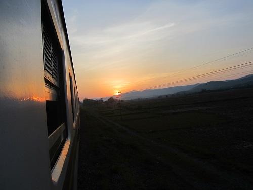 Zug nach Chiang Mai