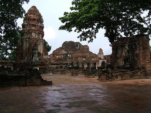 Eine Tour durch Ayutthaya
