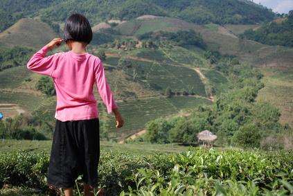 Petite fille, Triangle d'or, Thailande Foto: © Ariane Citron - Fotolia.com
