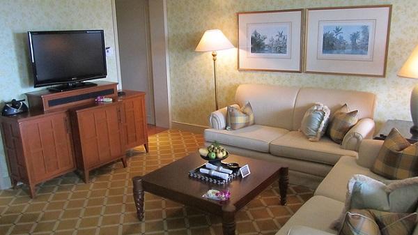 Luxus-Suite im Mandarin Oriental Hotel, Bangkok