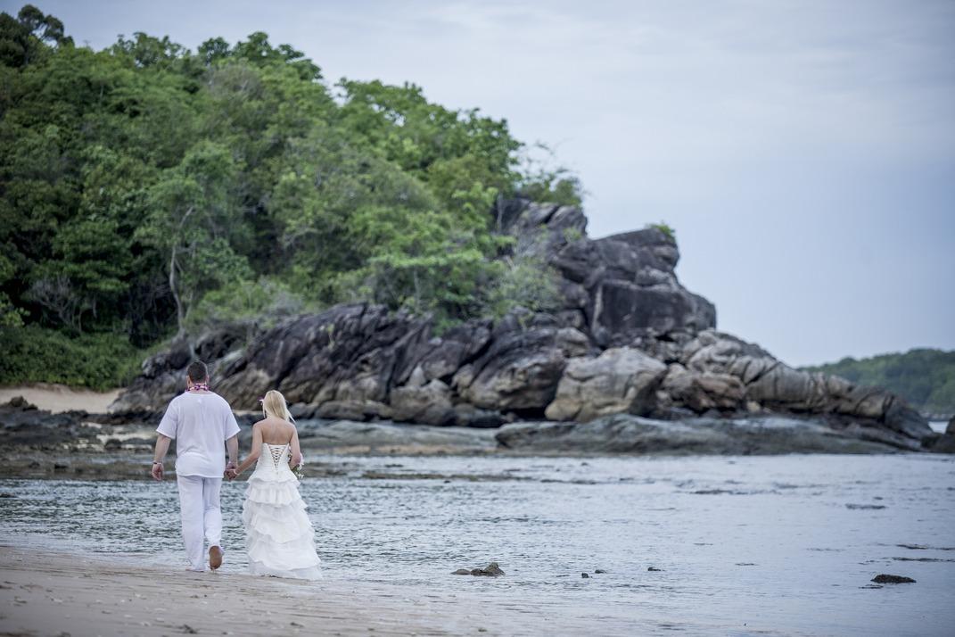Thailand als romantisches Ziel für die Flitterwochen