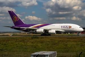 Ein Airbus von Thai Airways | Foto: Oliver Holzbauer | Lizenz: CC BY-SA 2.0